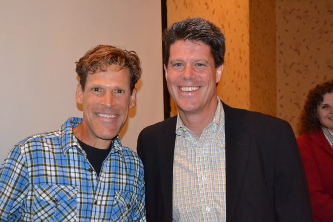 Dean Karnazes Breakfast March 11, 2014