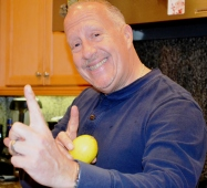Steve Caliger-Salmon Maestro on the Food prep team and star Search Consultant.