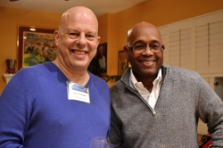 Marty Shapiro and Vance Ashe